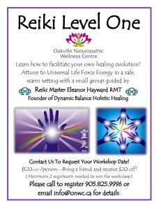 Reiki Level One flyer