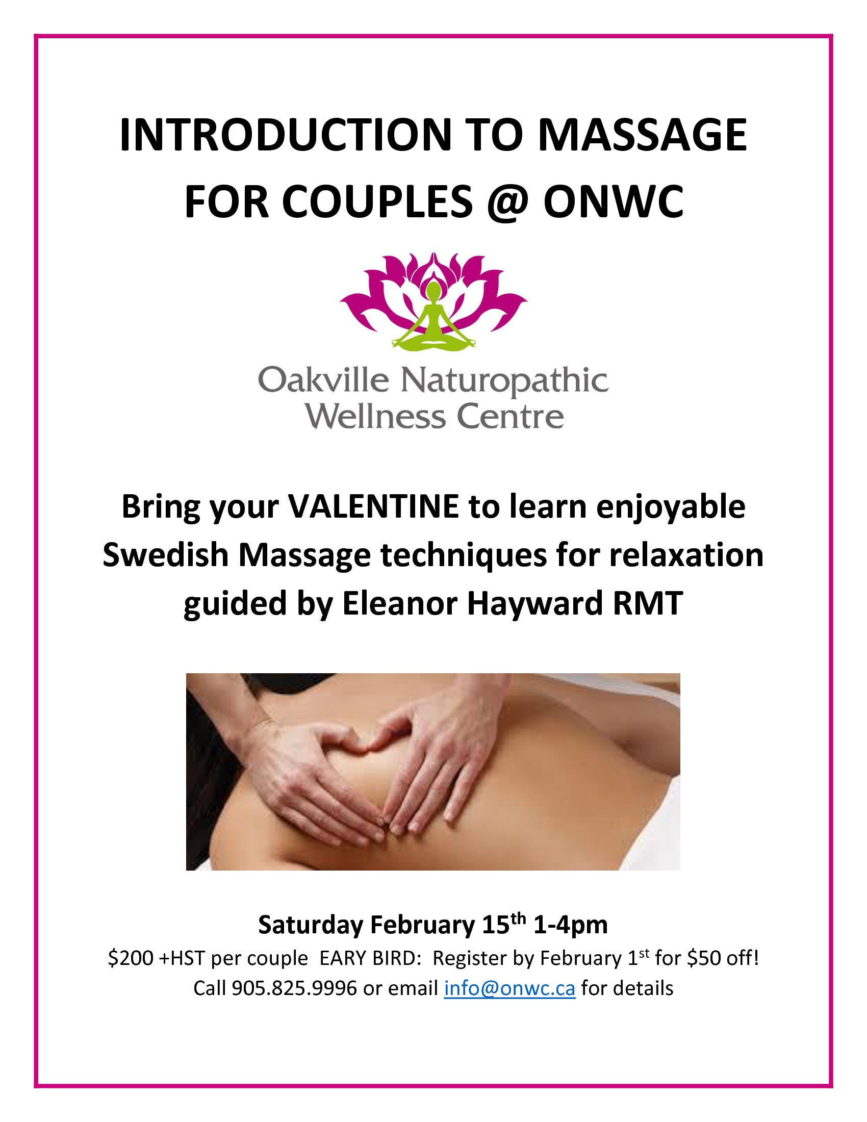 introduction to massage feb 2014