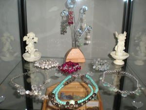 Crystal Gemstone locally handmade jewelry for sale