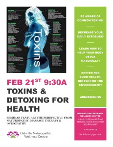 Toxins and Detoxing poster