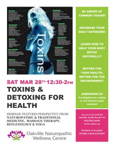 toxins and detoxing poster march 2015