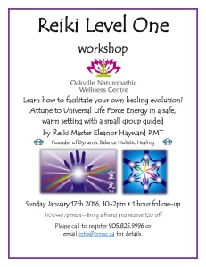 reiki level one flyer jan 17 2016